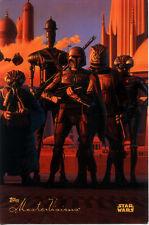 STAR WARS 1994 Topps PROMO MasterVisions TRADING CARD Boba Fett BOUNTY HUNTERS