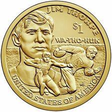 2018 D UNCIRCULATED NATIVE AMERICAN GOLDEN DOLLAR SACAGAWEA $1 COIN FRM MINT BAG