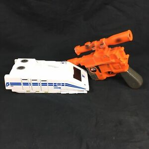 Disney Star Tours Toys Set Starspeeder 3000 Han Solo Blaster Orange Toy Pistol