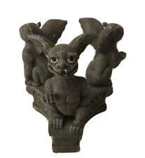 Gargoyles Candle Holder Fantasy Mythical Magic Gothic Stone Look Halloween