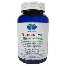 StressLess, 8 Kräuter bei Stress, 120 Pulver-Kapseln a 350mg, #25536