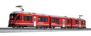 Kato N Gauge 10-1273  RhB ABe 8/12 Allegra 3 Car EMU