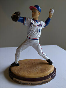 Tom Glavine Richmond Braves Figurine Statue - Excellent Condition