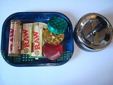 ROLLING TRAY BUNDLE - RAW TOBACCO ROLLING PAPERS, RAW CIGARETTE ROLLER, + MORE