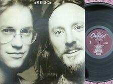 America ORIG OZ LP Silent letter NM '79 Pop Rock Country Rock Capitol