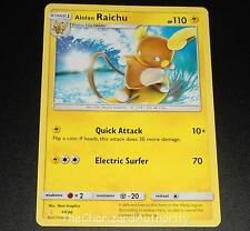 Alolan Raichu 17/30 SM Trainer Kit Promo NEAR MINT Pokemon Card