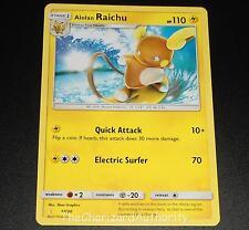 Alolan Raichu 17/30 SM Trainer Kit Promo NEAR MINT Pokemon Card