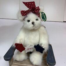 Bearington Bears Miss Independence #1622 Americana Usa Limited Edition Bear