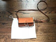 chloe brown faye wallet bag in tobacco