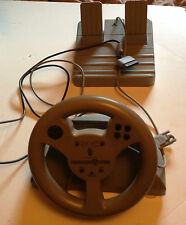 Interactive Steering Wheel And Pedal For Play Station