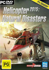 Helicopter 2015 Natural Disasters PC Game NEW