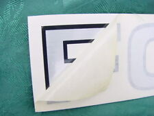 "FORMULA BOAT DECAL 21-1/2"" x 2-1/4"" NEW GENUINE! HULL SIDE TRANSOM TRAILER CAR"