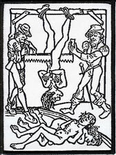 Inquisition - Patch Torture woodcut religion witchcraft witch occult inquisitor