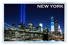 NEW YORK BROOKLYN BRIDGE MOD2 FRIDGE MAGNET SOUVENIR IMAN NEVERA
