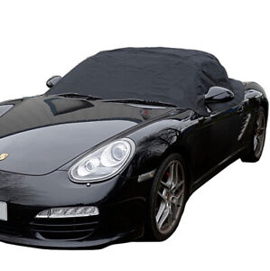 RP114 Porsche Boxster 987 Convertible Soft Top Roof Half Cover - 2005 to 2012
