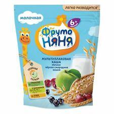Multi-Grain Milk Baby Food  Porridge w/ Apple, Currant and Сherry, 6 months+