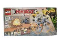 Lego Ninjago Minifigures Movie Flying Jelly Sub 2017 341 Pieces 70619 New Sealed