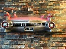 3D Regal: Heckpartie Cadillac Eldorado 1959 - Pink Cadillac mit Heckflossen
