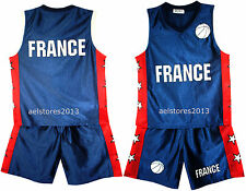 Basketball Shorts été Garçons Neuf Filles Top Gilet Kit Set Taille âge 3-14 ans