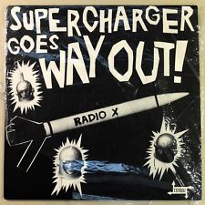Supercharger Goes Way Out LP BLUE WAX New GARAGE BUDGET ROCK  MUMMIES Estrus