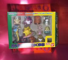 Bandai DX 98 Japanese 11 Kid Figure Ash Gyarados Gengar Mewtwo Pikachu - 1998