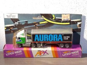 AURORA AFX | GMC TRUCK | AURORA TR. | green - blue - white | VERY HTF - MOC !!!