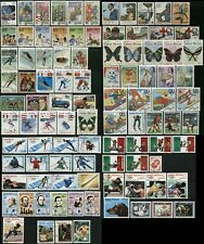 GUINEA BISSAU Postage TOPICAL Stamp Collection AFRICA 1983-89 CTO
