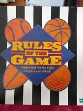 Hasbro Rules of the Game 2000