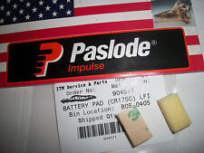 """""""NEW"""" Paslode Part # 904571 BATTERY PAD (2 Pads)"""
