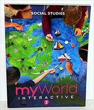 2nd Grade 2 myWorld Social Studies 2019 Student Interactive Worktext My World