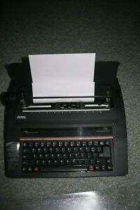 Royal Vintage Professional Electronic Typewriter Model 170 with ProSpell