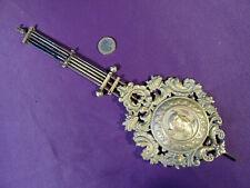 ancien balancier pour pendule XIXéme horloge