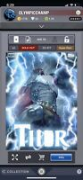 Topps Marvel Collect Thorsday Week 3 Award