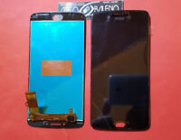 DISPLAY LCD+TOUCH SCREEN ORIGINALE MOTOROLA PER MOTO E4 PLUS XT1770 1773 NERO