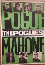 """MUSIC POSTER~The Pogues Pogue Mahone '96 1996 24x34"""" Original NOS UK Import Rare"""