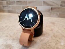 Motorola moto 360 2nd gen 42mm Womens Smart Watch (Rose Gold)