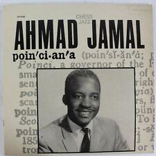 Poinciana, Ahmad Jamal - 1984 VINYL Record - Chess Jazz