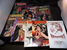 Vampirella lot 11 Books Titles in description.  Nice Shape NO STOCK PHOTOS.