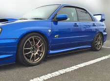 SUBARU Impreza STi Body Kit,lips,splitter,side skirt extension 03-05 Blobeye