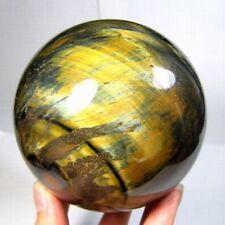 93mm Tiger Eye Crystal Sphere Ball tes93ie0224 L
