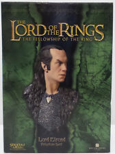 THE LORD OF THE RINGS : LORD ELROND POLYSTONE BUST MADE BY SIDESHOW
