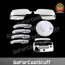 For Chevy Silverado 1500 Mirror Cover+Door Handle+Tailgate W/Camera+Gas Door