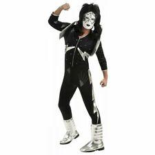 Spaceman KISS Costume Adult Rock star Halloween Fancy Dress Rubies official
