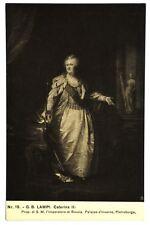 Cartolina Originale Caterina IIª Di Russia