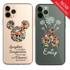 Cartoon Disney Fan Art CLEAR Phone Personalised Cover Case for iPhone 11 X 8 Pro