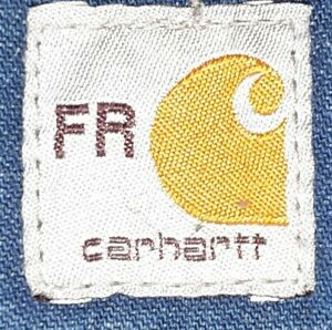 (3) Carhartt FR Tags Patches stitch on FLAME RESISTANT NFPA 2112 100% ORIGINAL!