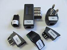 RJ11 6/2 Adapter-Set 6-fach - UK,Italien,Frankreich,Schweiz,Österreich,Deut.
