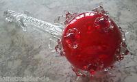 Herrschaftliche Insigne : 41cm Zepter / Glaszepter Glasbläserkunst Einzelstück !