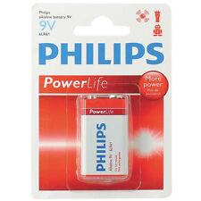 Philips Confezione 1 Batteria Alcalina Alkaline 9 Volt Power Life