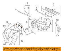 HONDA OEM 02-05 Civic Windshield Wiper Washer-Nozzle Spray Jet 76810S5TA00